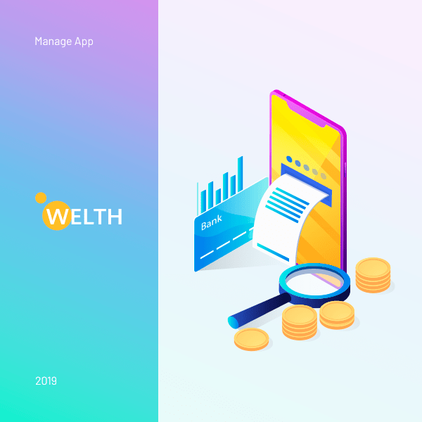 "Mobile App ""Welth"""